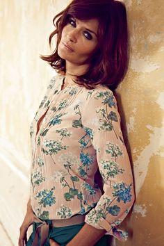 Helena Christensen (Vogue.com UK)