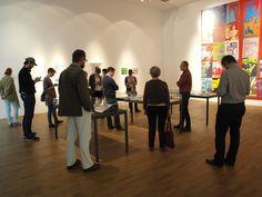 Kultur-Tweetup im MMK Frankfurt im Rahmen der Andy-Warhol-Ausstellung.