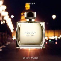 Eclat Homme evoca el encanto francés y está elaborada con té himalayo, notas de cuero y haba tonka. Misterioso y sofisticado, ¡oui s'il vous plaît!  #Eclat #EclatHomme #Fragancias #ForMen #OriflameMX
