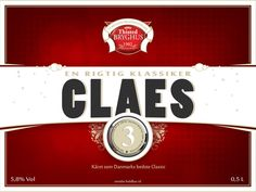 Classic Beer from Thisted Brewery,  design by Sø&co advertising
