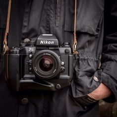 There's something about Nikon and Barbour. They just work together! Especially when the Nikon is the indestructible Nikon F4.