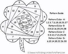 Image result for iris folding patterns free