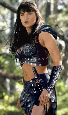 Xena is wearing Callisto's costume!