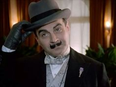 Early Poirot~David Suchet =DEFINITIVE POIROT. No others need apply.