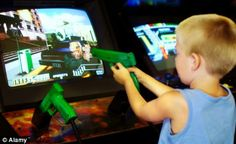 Violent films, video games and TV shows DO make boys aggressive, study finds  By FIONA MACRAE  UPDATED: 02:49 EST, 19 October 2010 ~ http://bscw-app1.let.ethz.ch/pub/bscw.cgi/d5907573/HuesmannTaylor-The%20Role%20of%20Media%20Violence%20in%20Violent%20Behavio.pdf (THE ROLE OF MEDIA VIOLENCE IN VIOLENT BEHAVIOR)