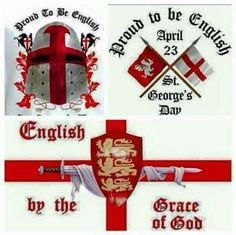 42 St George's Cross, Uk Brexit, St Georges Day, George Cross, Crusader Knight, Best Of British, England Football, Knights Templar, England Uk