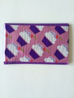 Eeeeeek cutest little duct tape wallet made by my friend! #ohcupcakes #DIY #dreamyrealistfashion