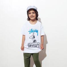 Stussy Kids x Peanuts Surfs Tee #stussy #kids #japan