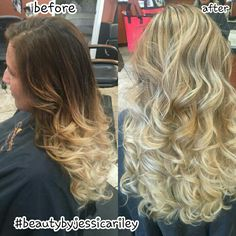 Blonde ombre #serendipityofmilford #beautybyjessicariley