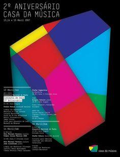 Sagmeister & Walsh – Casa da Musica Identity, via Behance Stefan Sagmeister, Sagmeister And Walsh, Graphic Design Print, Graphic Design Typography, Branding Design, Museum Identity, It Cv, Logo Word, Id Design