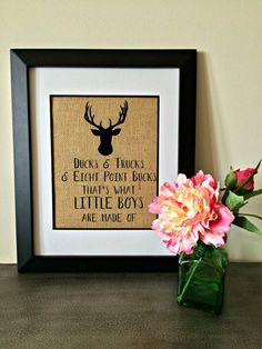 Hey, I found this really awesome Etsy listing at https://www.etsy.com/listing/257115853/baby-boy-nursery-decor-deer-duck-buck
