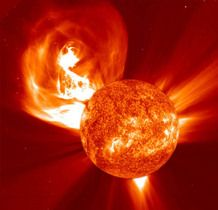 Sun and Coronal Mass Ejection taken by NASA. A plasmic solar flare. Cosmos, Jupiter Planeta, Solar Activity, E Mc2, Space And Astronomy, Hubble Space, Space Telescope, Space Shuttle, Our Solar System