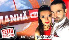 Daqui a nada às 10h MAC & Nia na CMTV no Programa da Manhã ao vivo para improvisar um pouco de Kizomba Natalícia para vocês. Não percam! #kizombapower #kizomba #cmtv