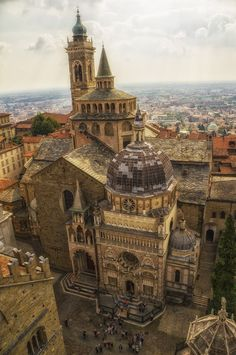 A crooked photo by Ola Warringer on 500px - Bergamo, Italy #architecture