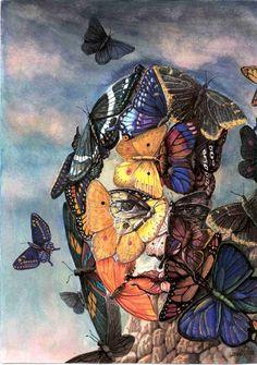 Surrealist Painter Fine Artist Portrait Painting, Artist Study with thanks to Artist Jorge Ignacio Nazabal , Resources for Art Students, CAPI ::: Create Art Portfolio Ideas at milliande.com , Inspiration for Art School Portfolio Work, Portrait, Painting, Figure, Faces, Surrealism