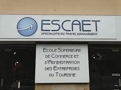 Bienvenue à l'ESCAET!  http://www.escaet.fr/