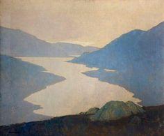 Paul Henry,Paysagiste irlandais (Belfast) 1877/1958.