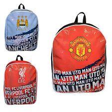 Official Football FC Soccer 'Impact' Team School Backpack Rucksack Bag New Gift