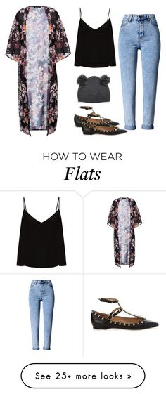 """""""Untitled #264"""" by lv-a on Polyvore featuring Raey, Boohoo, WithChic and Valentino"""