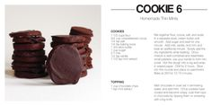 yummy cookie recipes...my daughter in law will love the thin mints!