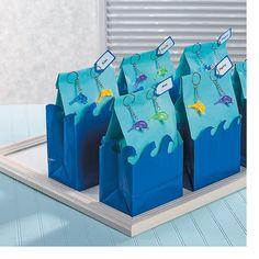 Dolphin Treat Bags - OrientalTrading.com
