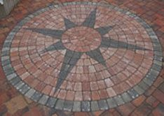 Custom Compass Rose Stamped Concrete Patio I Ve Always