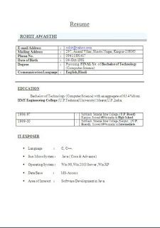 high school resume template on