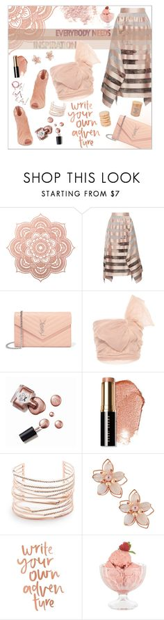 """""""Write your own adventure"""" by dani-elan ❤ liked on Polyvore featuring Dolce&Gabbana, Fendi, Bare Escentuals, Yves Saint Laurent, RED Valentino, Ciaté, Bobbi Brown Cosmetics, Alexis Bittar, NAKAMOL and Mikimoto"""