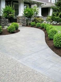 Curb appeal / widen the walk way