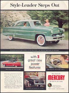 MERCURY AUTOMOBILES TIME 08/31/1953 p. 55
