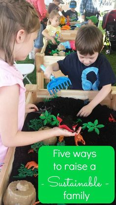 5 ways to raise a sustainable and happy family