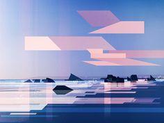 James Gilleard on Behance Funny Illustration, Digital Illustration, Graphic Illustration, Nature Artwork, Graphic Artwork, Branding, Environmental Art, Animation, Visual Development