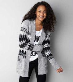 Don't Ask Why Crochet Cardigan | American eagle outfitters, Eagle ...
