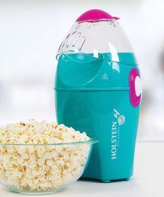Look at this #zulilyfind! Holstein Housewares Teal Popcorn Maker by Holstein Housewares #zulilyfinds