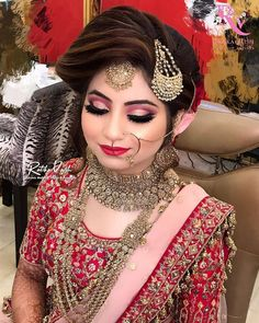 Stunning bridal makeover! Makeup @tantrumsmakeupstudio #bridalmakeup #bridemakeup #makeupartist #bridephotography #wedding #necklace #eyemakeup #hairstyle Bridal Makeover, Indian Bridal Makeup, Bride Photography, Bride Makeup, Makeup Yourself, Eye Makeup, Halloween Face Makeup, Hairstyle, Wedding