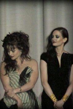 Eva Green and Helena Bonham Carter