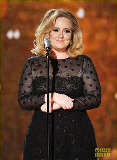 Adele Laurie Blue Adkins. She is a real woman, with a real figure, with real talent. And she has a great name.