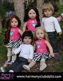 Special Offer from Harmony Club Dolls: Get $5 Off on orders of $50 or more Get $10 Off on orders of $100 or more
