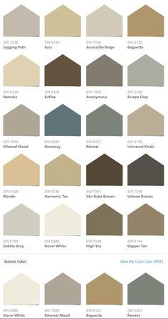 Sherwin Williams Hgtv Home Neutral Nuance Color Palette I Really Like The Harmonic Tan But Blonde May Match Tile Better