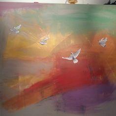 Obras en oleo y acrilico #artgallery #galleryapriori #apriorigallery