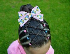 Natural Hair Mask to Boost Hair Growth - Armonth Childrens Hairstyles, Lil Girl Hairstyles, Braided Hairstyles, Hairstyles Videos, Latest Hairstyles, Hairdos, Short Hairstyles, Braids For Kids, Girls Braids