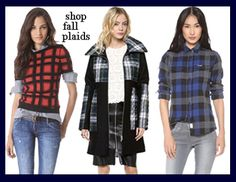 Plaid Fall Winter 2013 2014 Trends