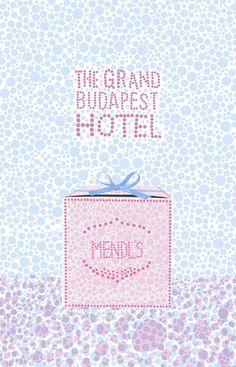 affiche grand budapest hotel pop art