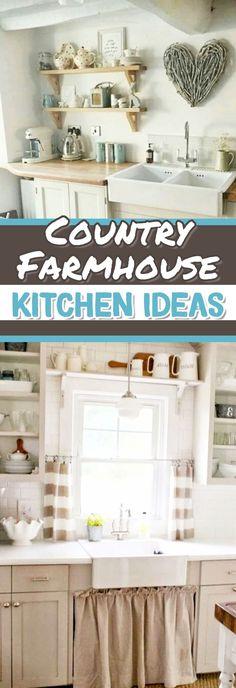 Cheap decorating ideas for a farmhouse kitchen