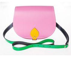 Kaleidoscope Leather Saddle Bag
