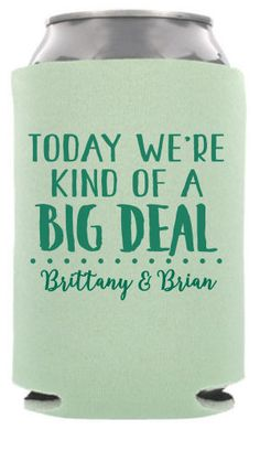 TWC6659 One of our best selling wedding koozie templates A