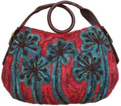 Beautiful hooked purse.