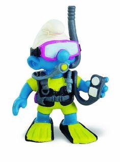 Scuba-Diver Smurf