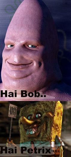 Spongebob horror...