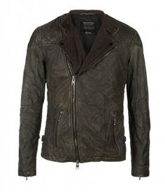 Convoy Leather Biker Jacket from All Saints